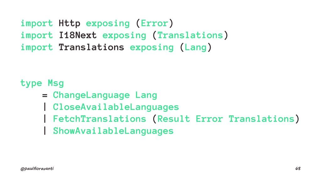 import Http exposing (Error) import I18Next exp...