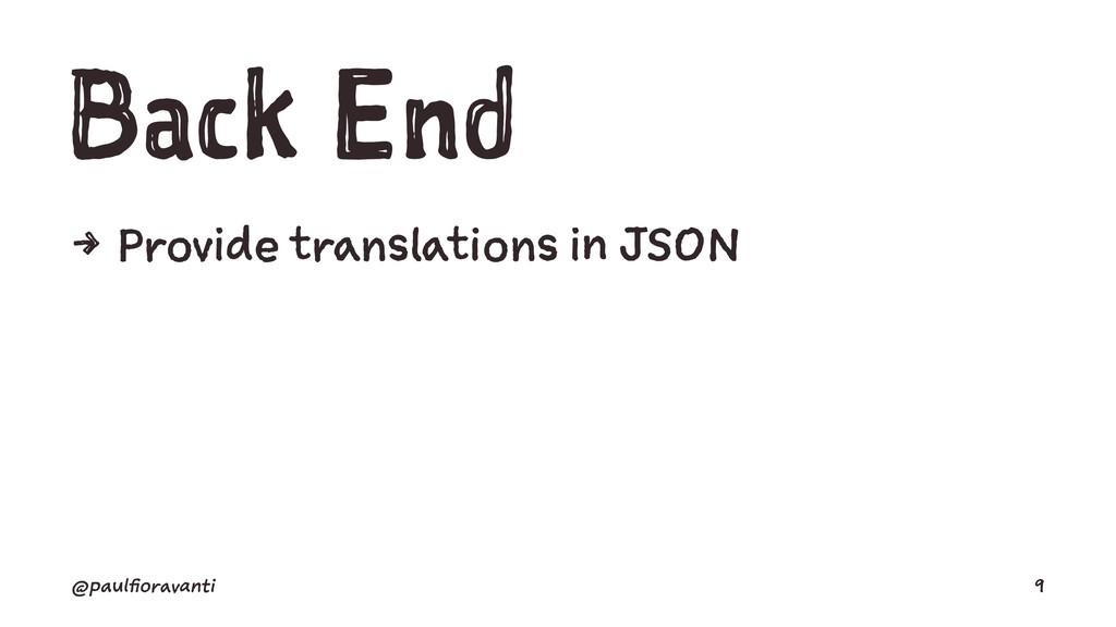 Back End 4 Provide translations in JSON @paulfi...