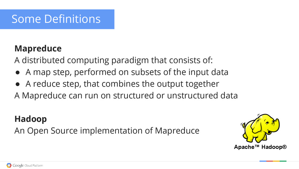 Mapreduce A distributed computing paradigm that...
