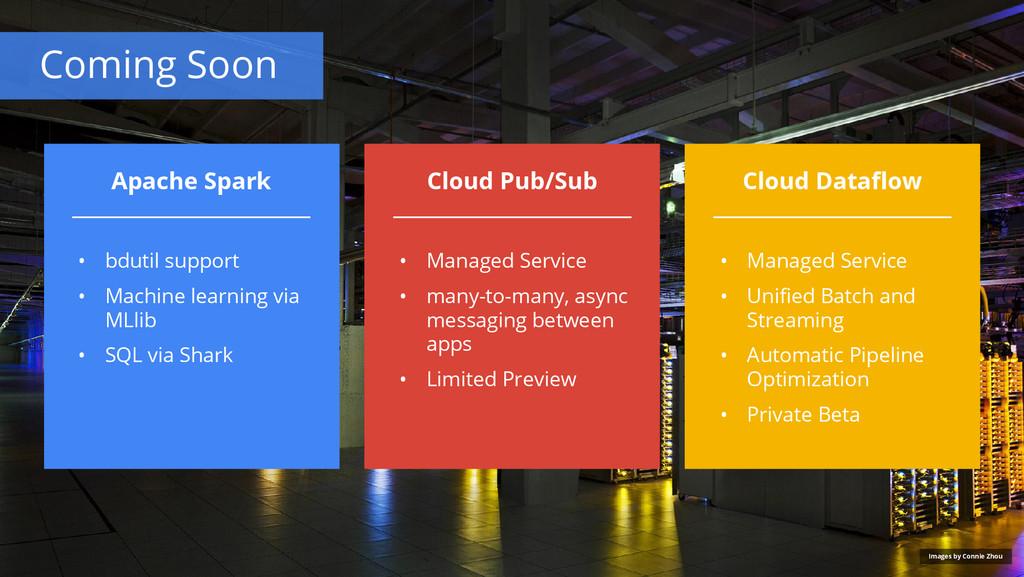 Coming Soon Cloud Pub/Sub Cloud Dataflow Apache...