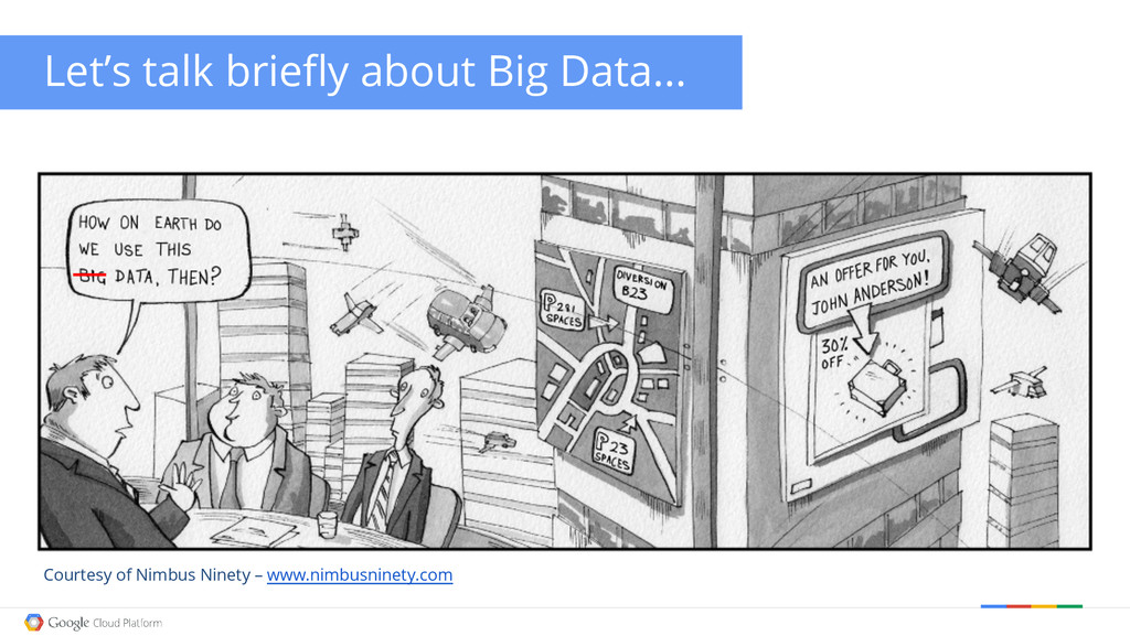 Let's talk briefly about Big Data... Courtesy o...