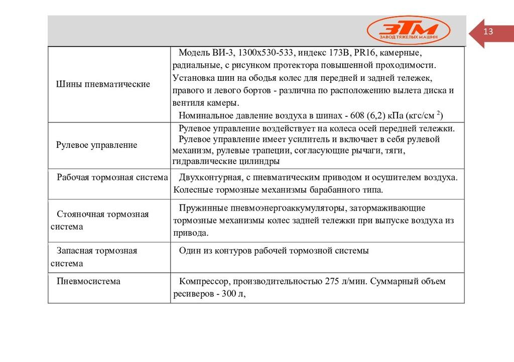 13 Шины пневматические Модель ВИ-3, 1300х530-53...