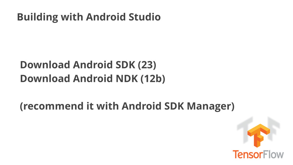 Building with Android Studio Download Android S...