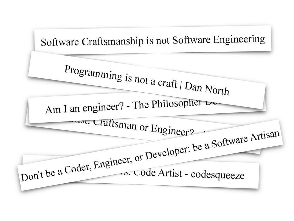 Hacker, Artist, Craftsman or Engineer? - Mike V...