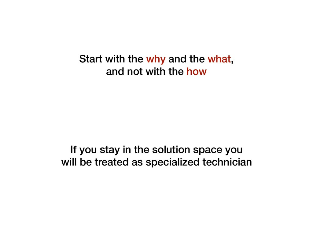 If you stay in the solution space you will be t...