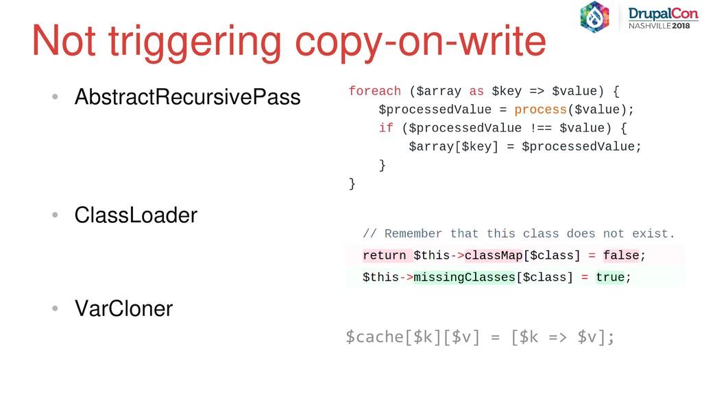 • AbstractRecursivePass • ClassLoader • VarClon...