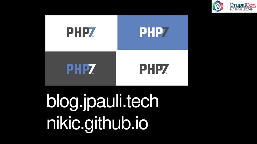 blog.jpauli.tech nikic.github.io