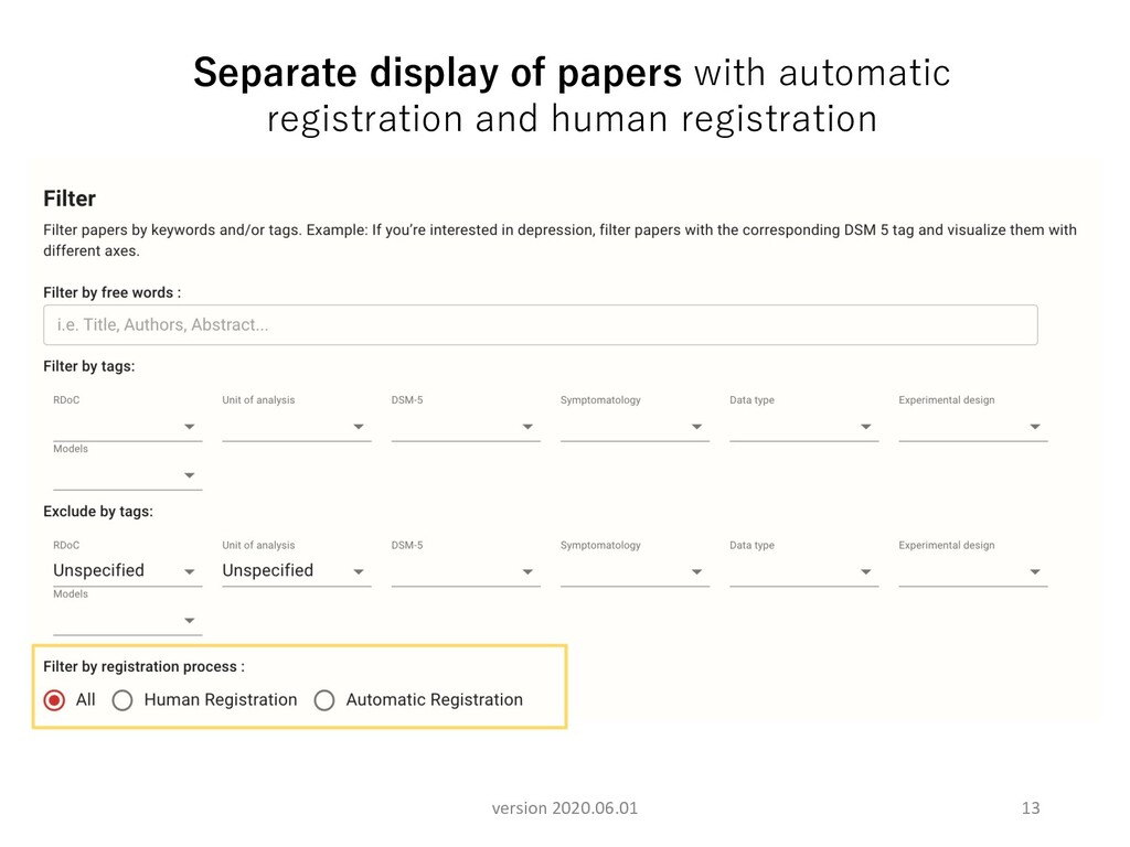 13 Separate display of papers with automatic re...