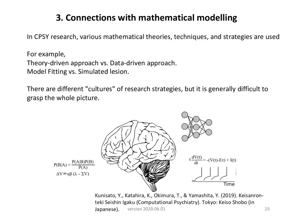 In CPSY research, various mathematical theories...