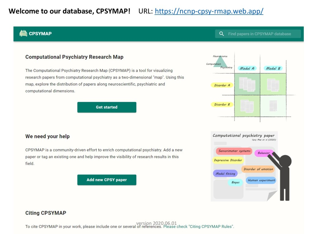 5 Welcome to our database, CPSYMAP! URL: https:...
