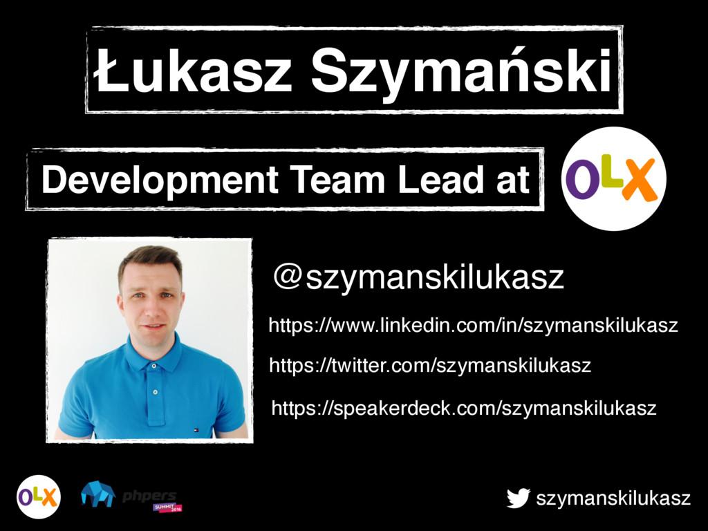 szymanskilukasz Łukasz Szymański Development Te...