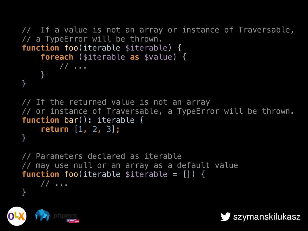 szymanskilukasz // If a value is not an array o...