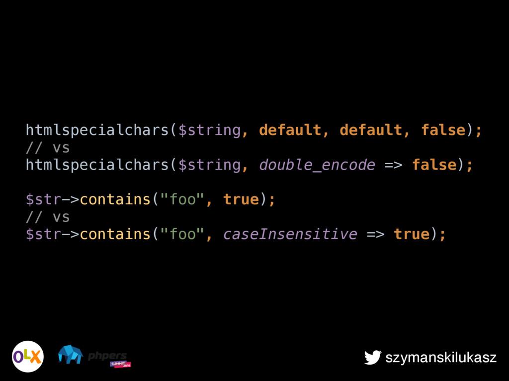 szymanskilukasz htmlspecialchars($string, defau...