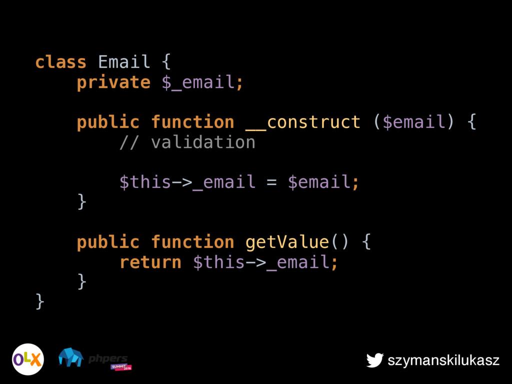 szymanskilukasz class Email { private $_email;...
