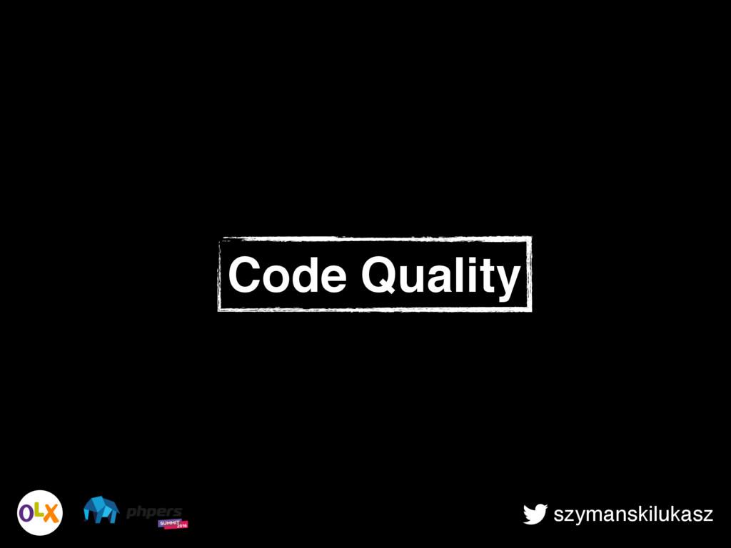 szymanskilukasz Code Quality