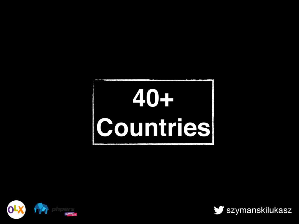 szymanskilukasz 40+ Countries