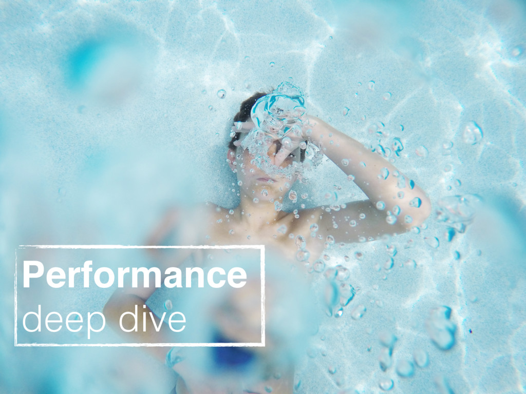 szymanskilukasz Performance deep dive