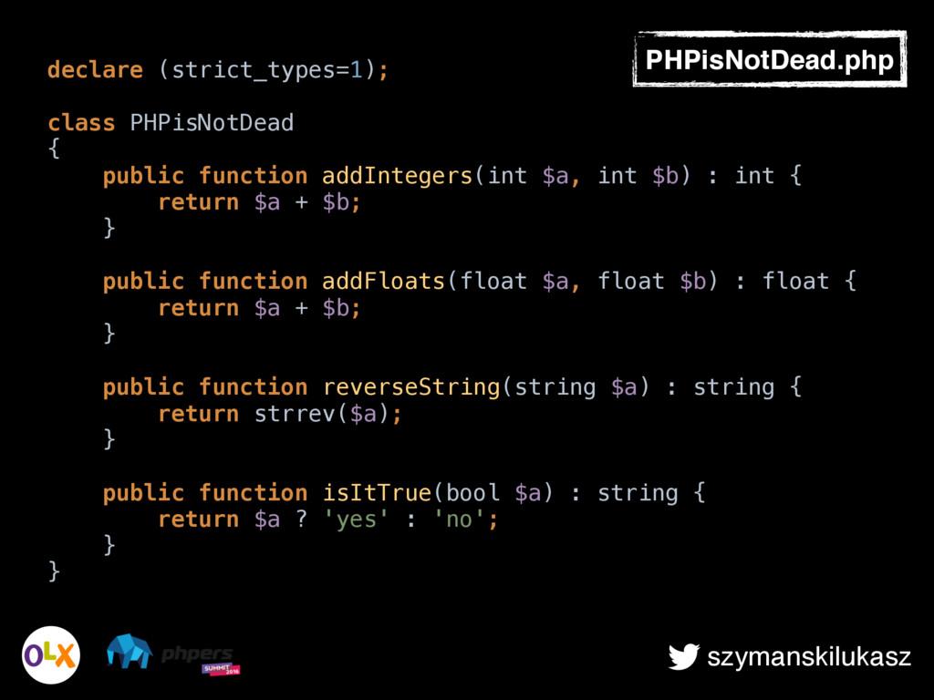 szymanskilukasz declare (strict_types=1); class...