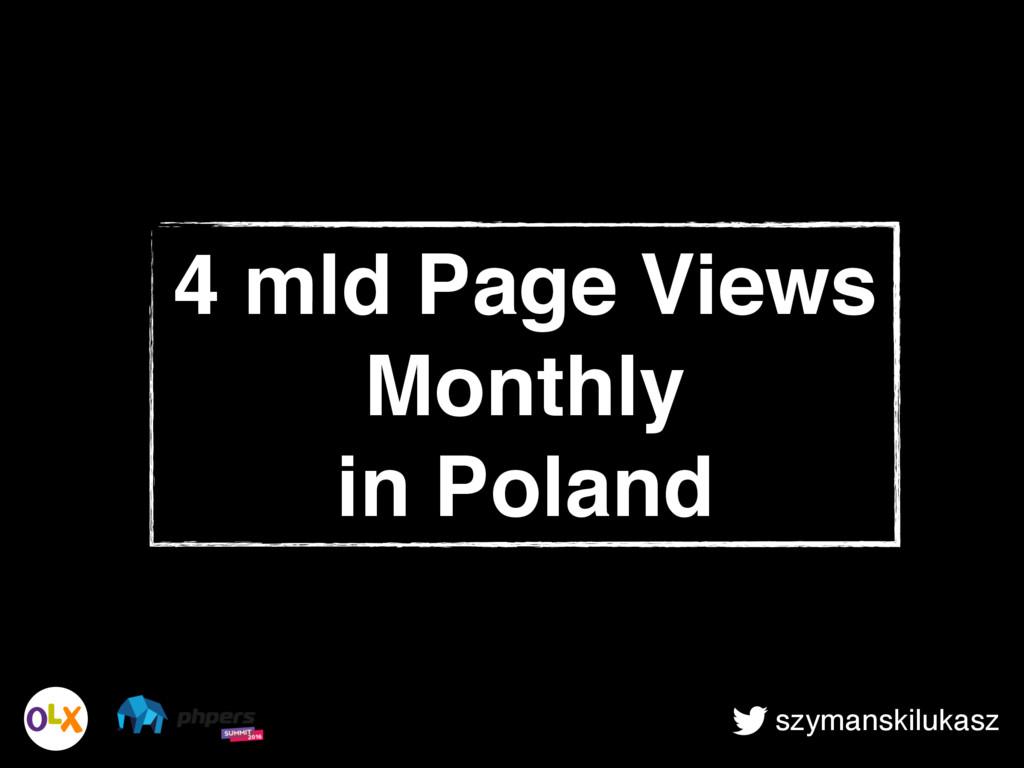 szymanskilukasz 4 mld Page Views Monthly in Pol...