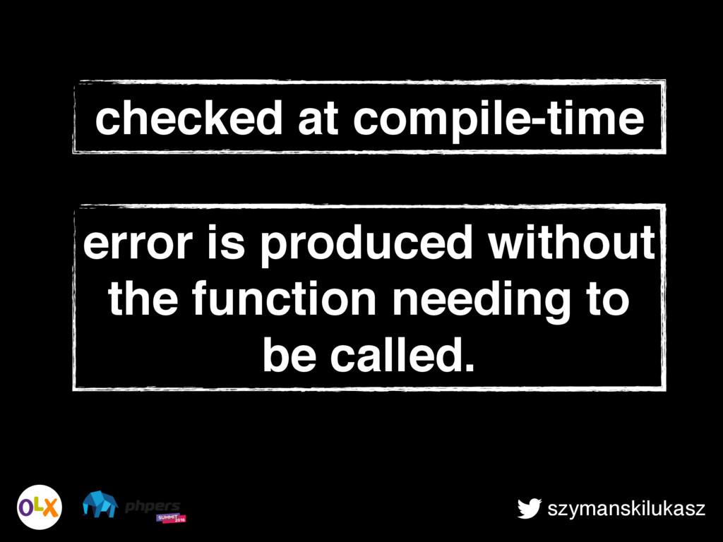 szymanskilukasz checked at compile-time error i...