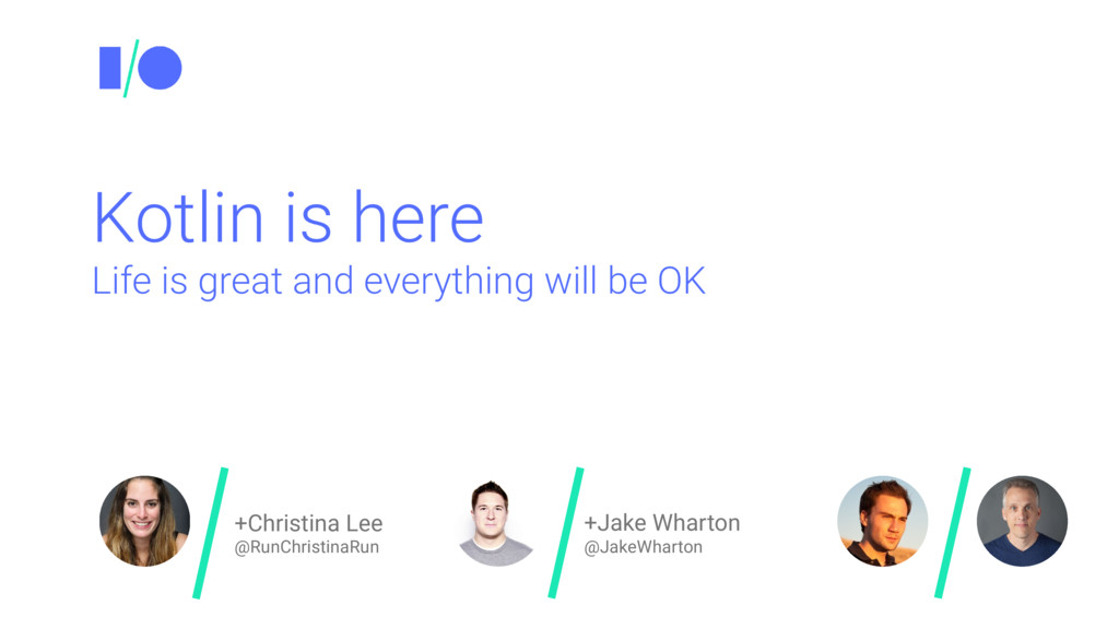 +Christina Lee @RunChristinaRun +Jake Wharton @...
