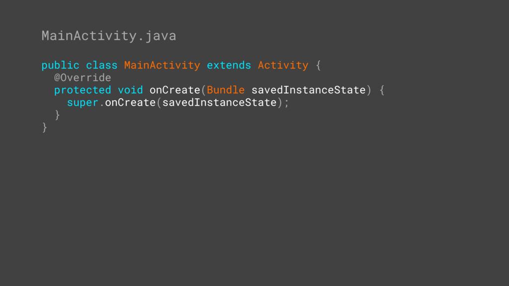 MainActivity.java public class MainActivity ext...
