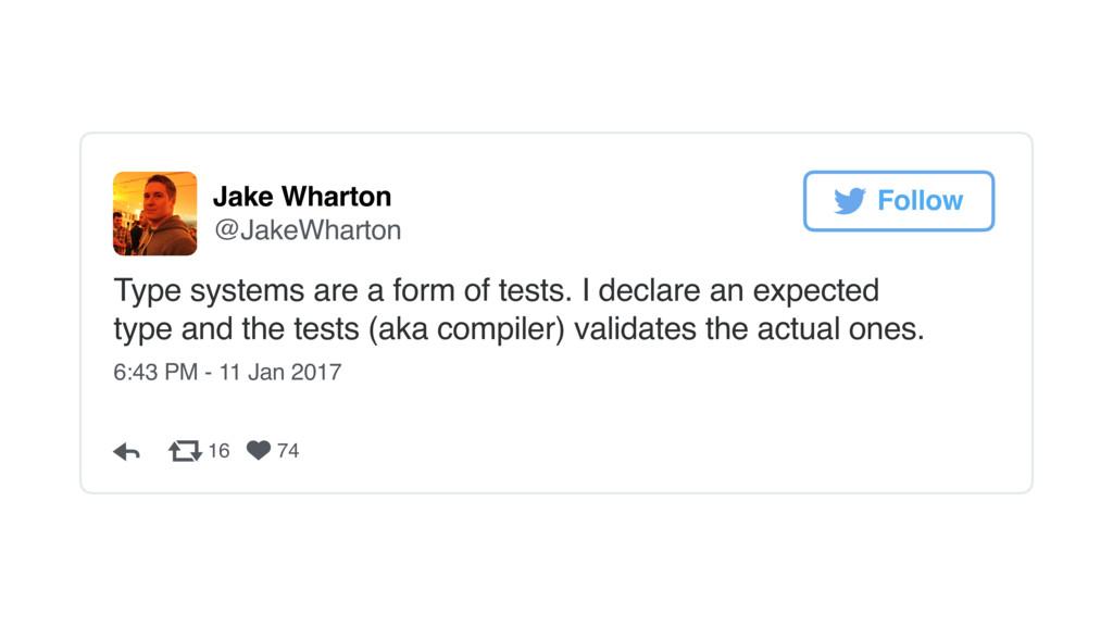 Jake Wharton @JakeWharton Type systems are a fo...
