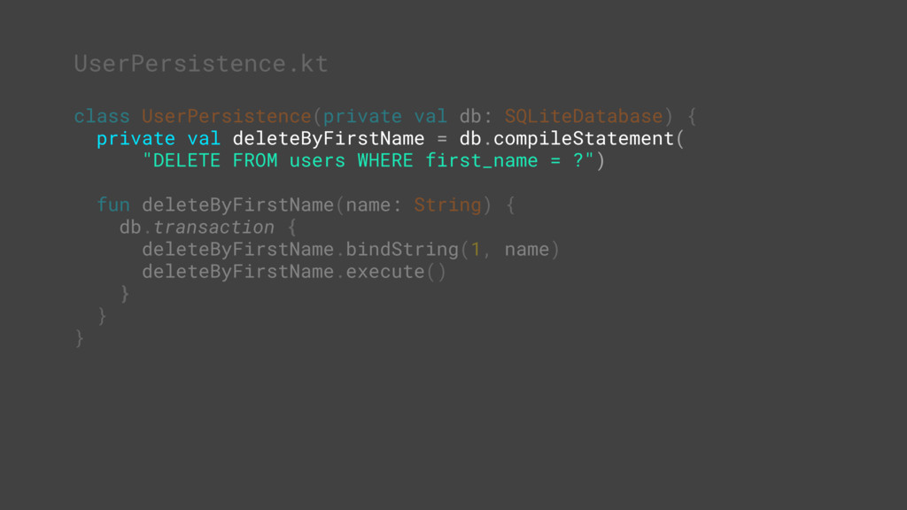 class UserPersistence(private val db: SQLiteDat...