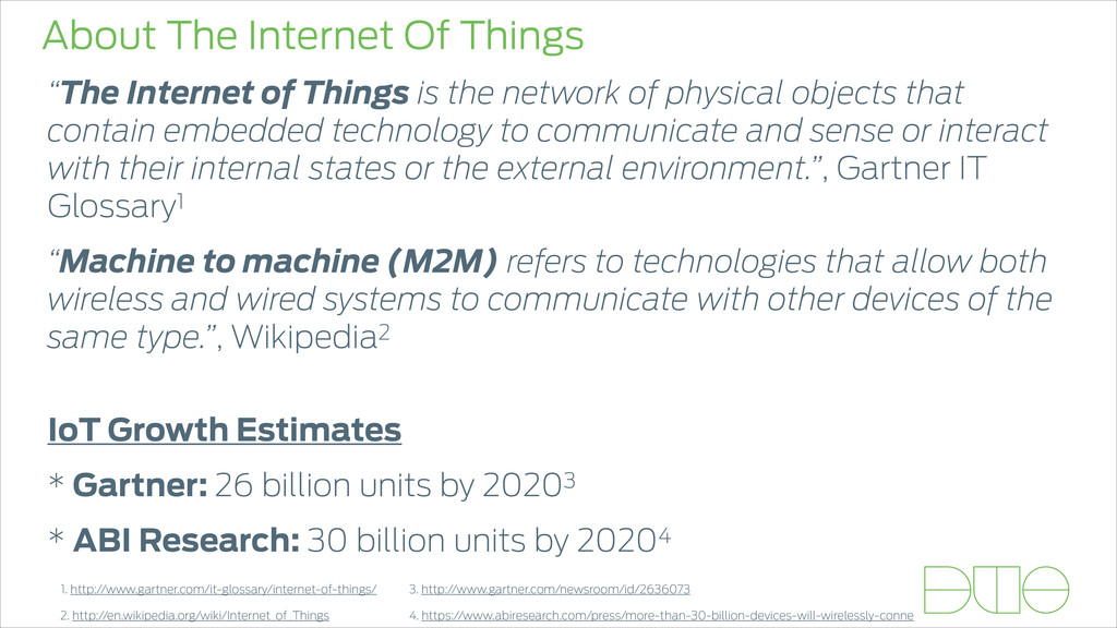 """About The Internet Of Things """"The Internet of T..."""