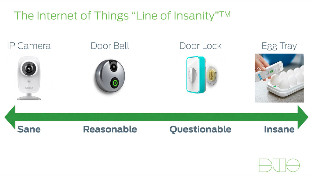 """The Internet of Things """"Line of Insanity""""TM San..."""