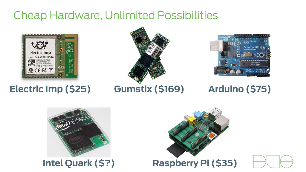 Cheap Hardware, Unlimited Possibilities Electri...