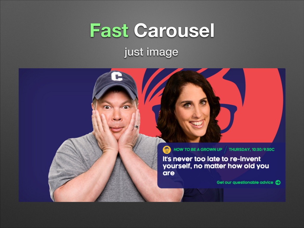 Fast Carousel just image