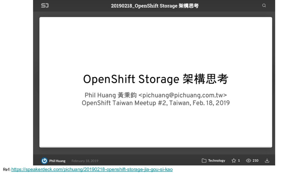 Ref: https://speakerdeck.com/pichuang/20190218-...