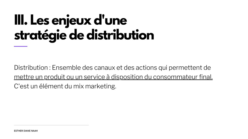 Distribution : Ensemble des canaux et des actio...