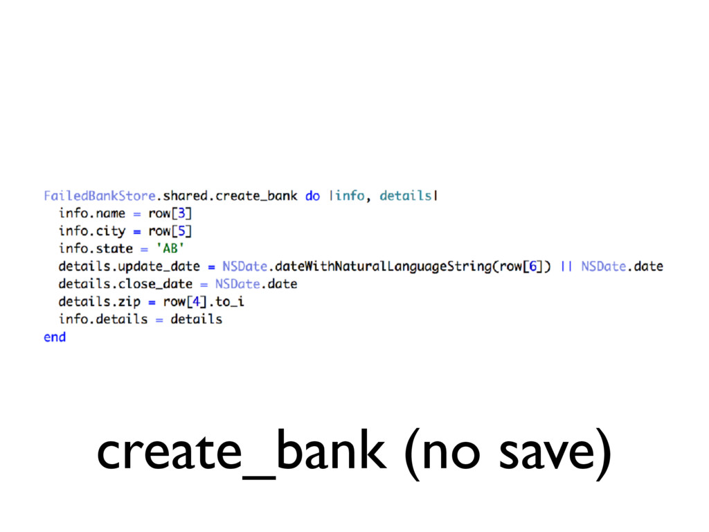 create_bank (no save)