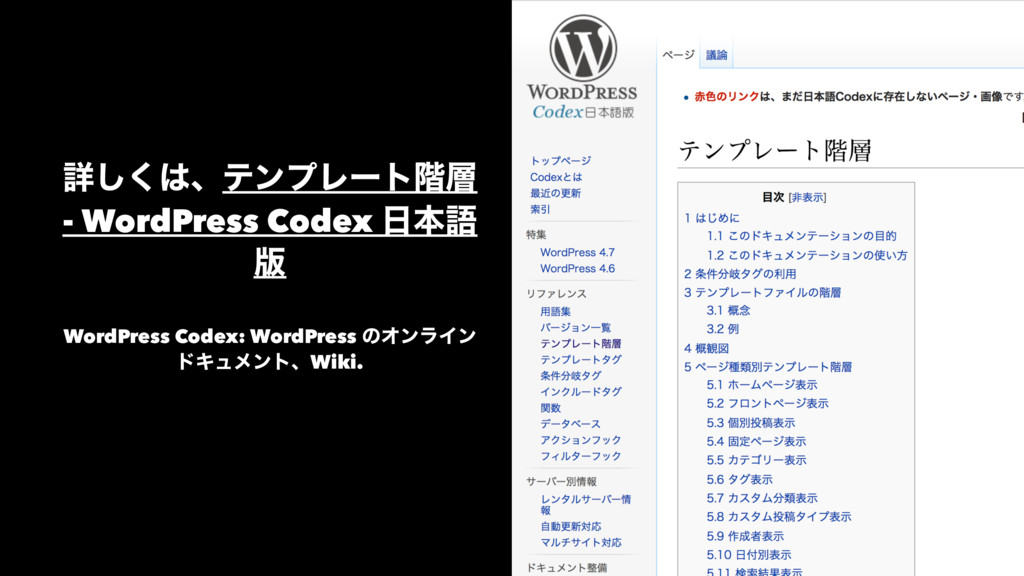 ৄ͘͠ɺςϯϓϨʔτ֊ - WordPress Codex ຊޠ ൛ WordPress...