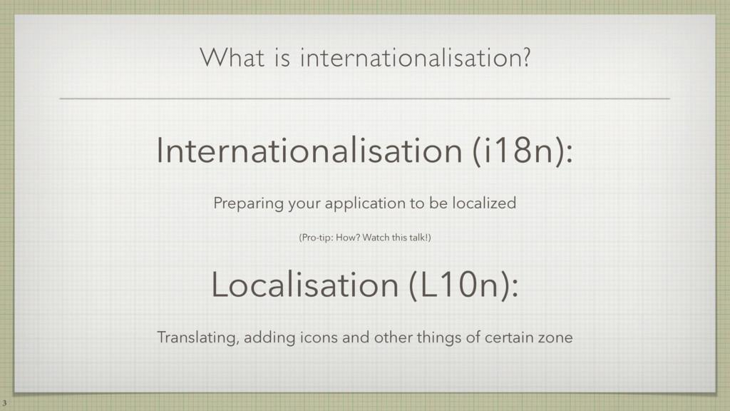 What is internationalisation? Internationalisat...