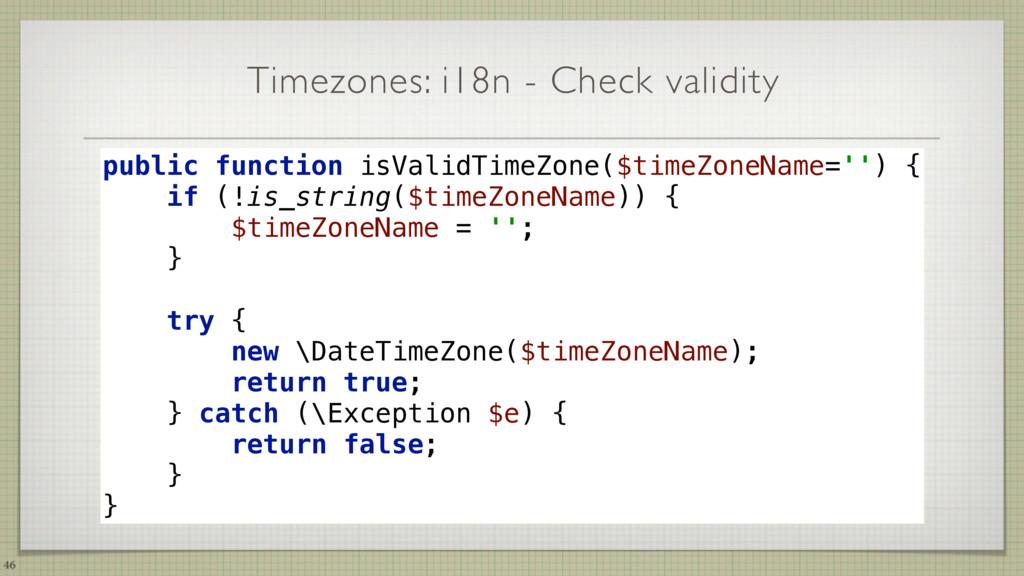Timezones: i18n - Check validity 46 public func...