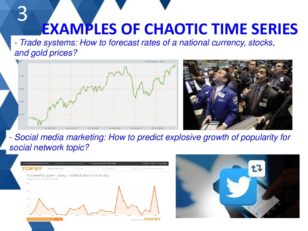 EXAMPLES OF CHAOTIC TIME SERIES 3 - Trade syste...
