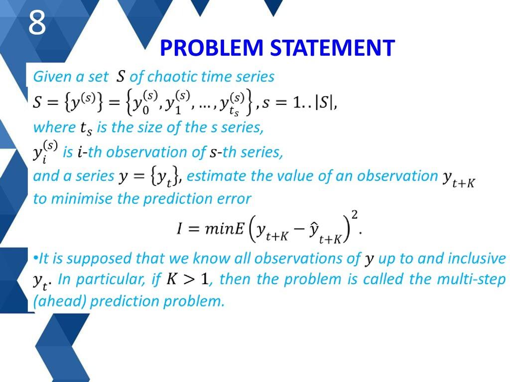 PROBLEM STATEMENT 8