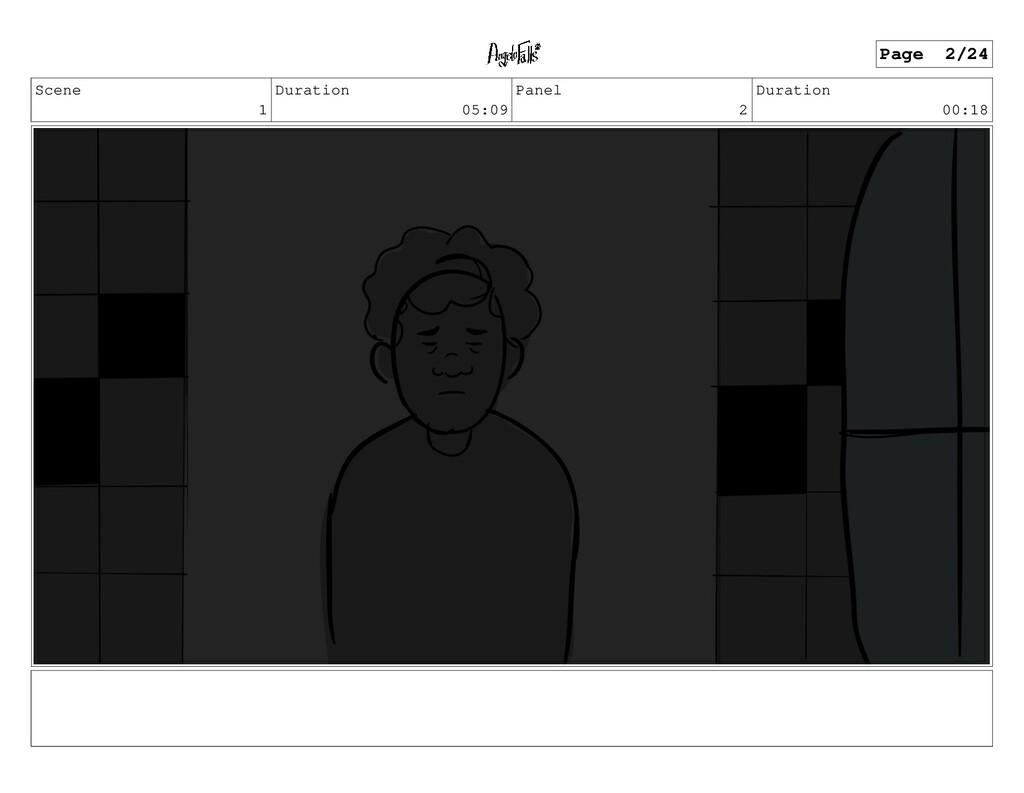 Scene 1 Duration 05:09 Panel 2 Duration 00:18 P...