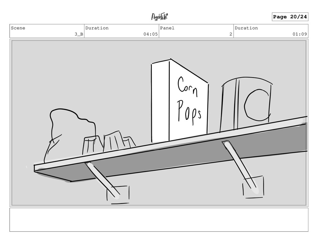 Scene 3_B Duration 04:05 Panel 2 Duration 01:09...