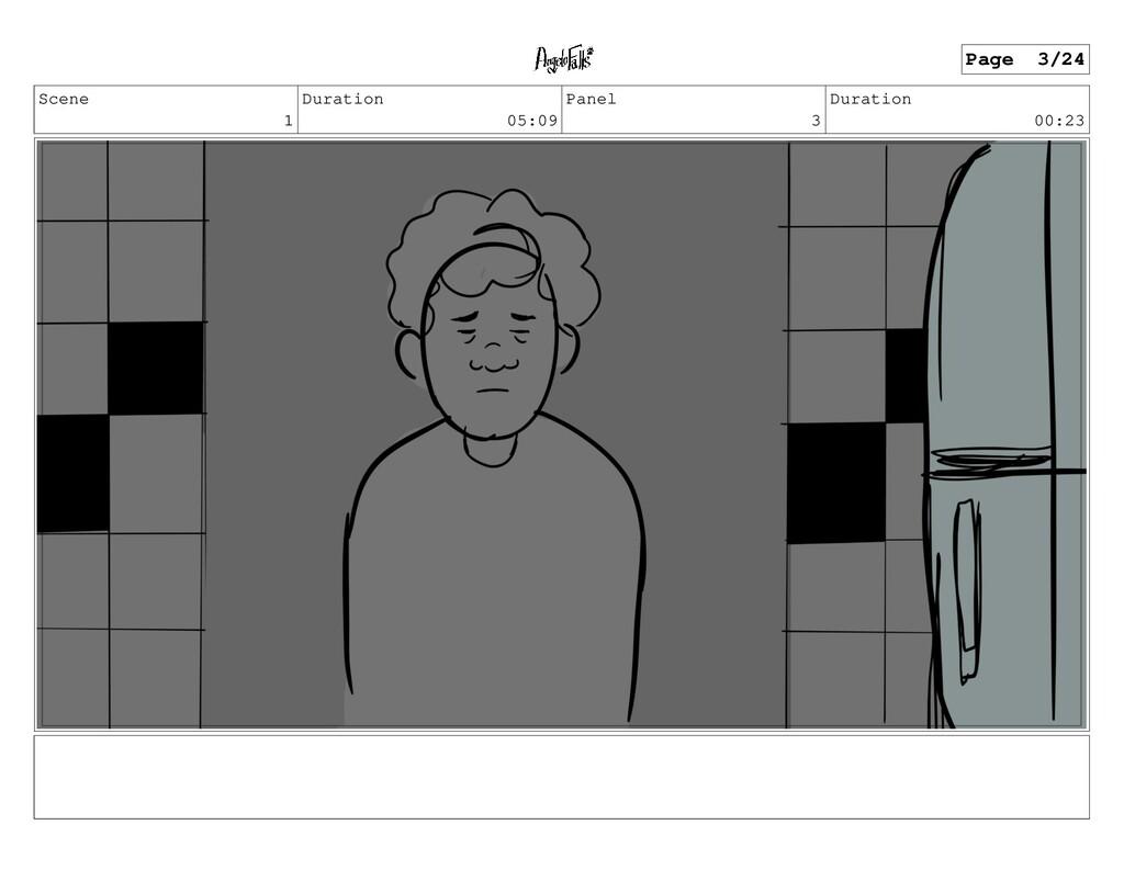 Scene 1 Duration 05:09 Panel 3 Duration 00:23 P...
