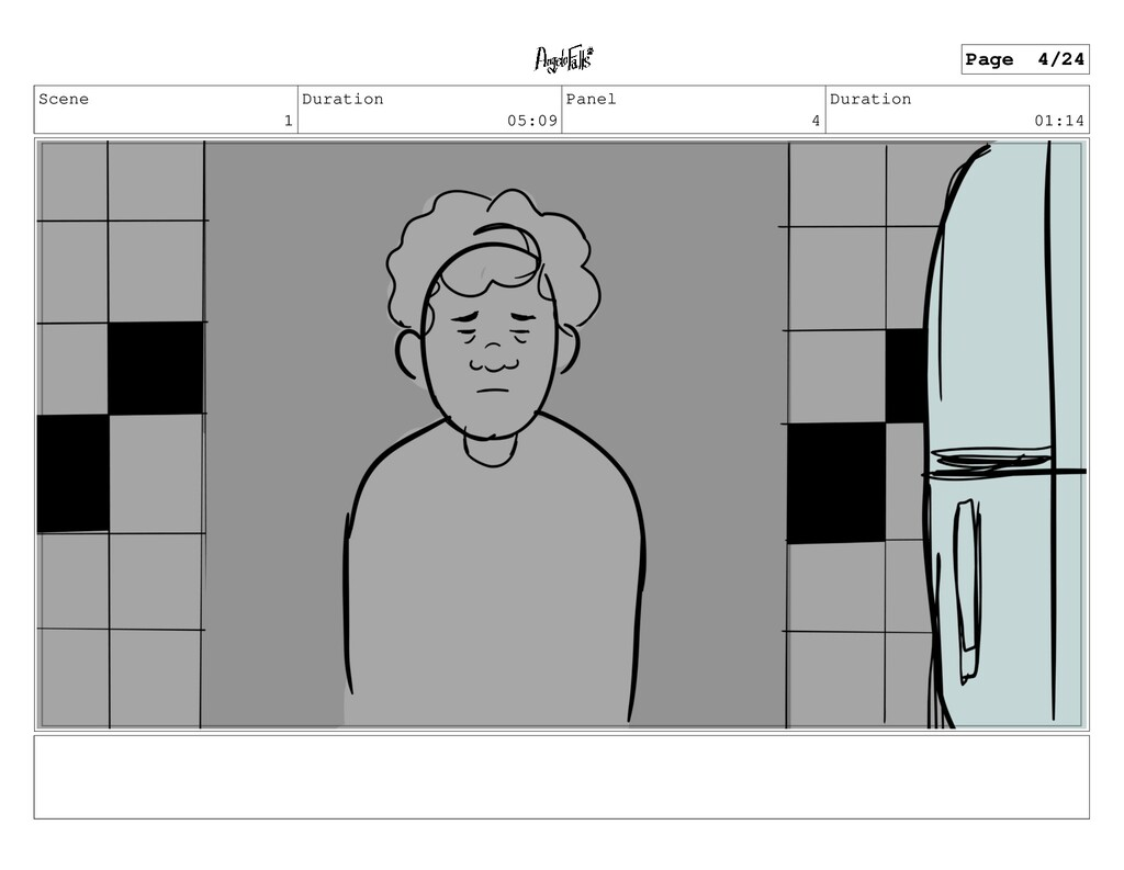 Scene 1 Duration 05:09 Panel 4 Duration 01:14 P...