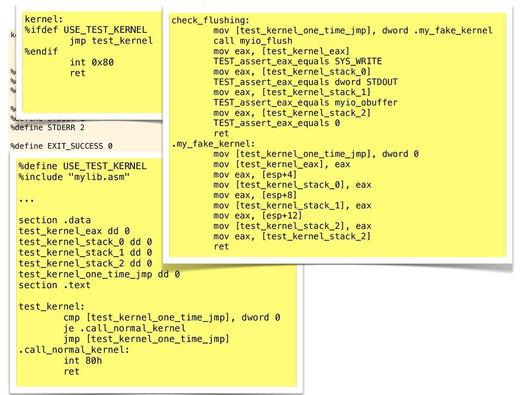 kernel: int 0x80 ret %define SYS_EXIT 1 %define...