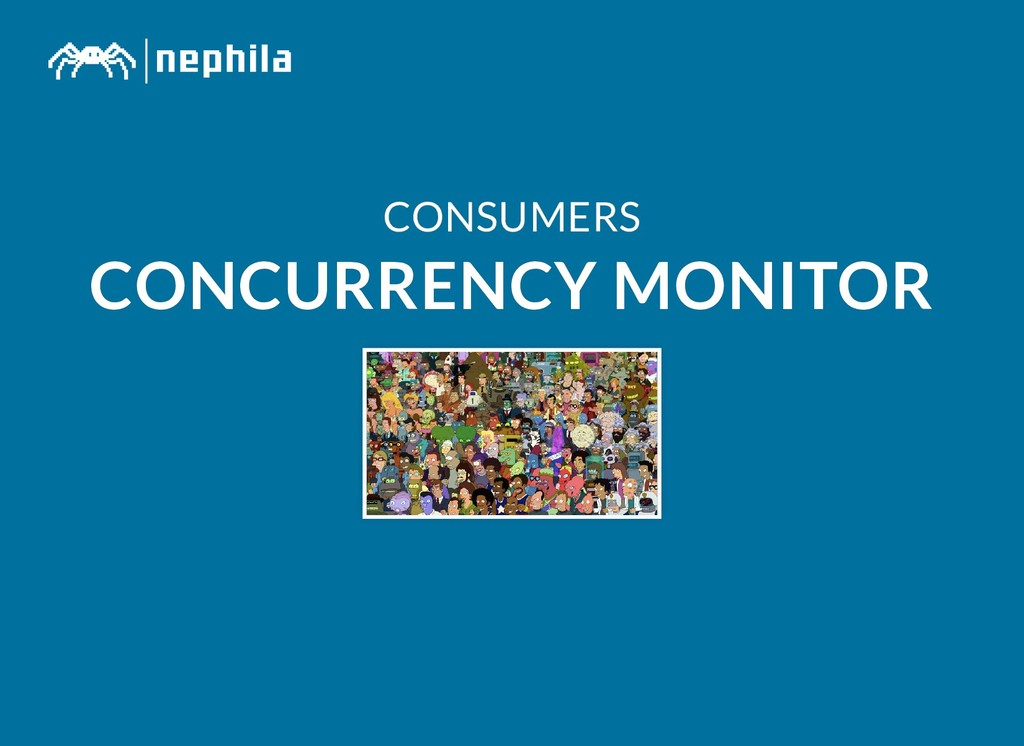 CONSUMERS CONSUMERS CONCURRENCY MONITOR CONCURR...