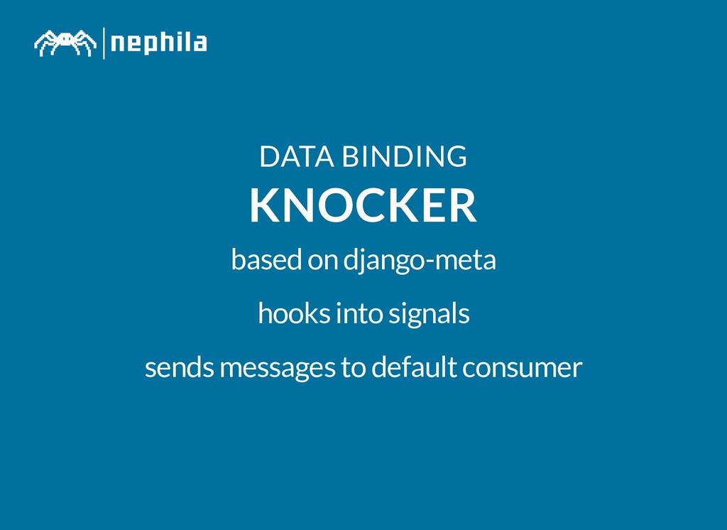 DATA BINDING DATA BINDING KNOCKER KNOCKER based...