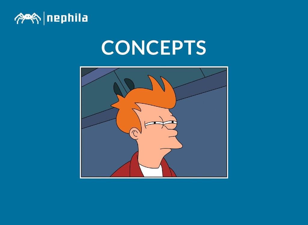 CONCEPTS CONCEPTS