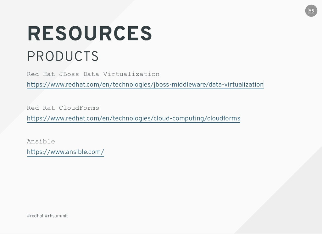 RESOURCES RESOURCES PRODUCTS PRODUCTS #redhat #...