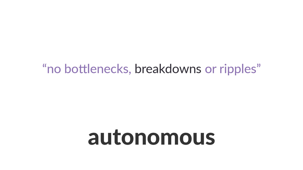 autonomous